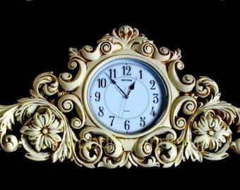 Wooden clock / Деревянные часы