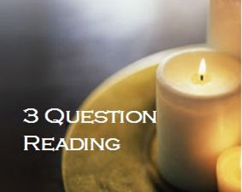 Psychic Readings by Email, Clairvoyant Readings, 3 Question Psychic Reading