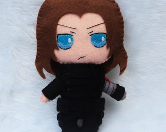 Bucky Barnes Invernal Soldier Plush Chibi - Marvel