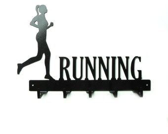 Free USA Shipping Womens Running Metal Art Medals Rack
