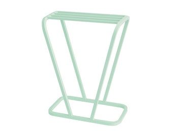 Plant Stand 'V' design metal powdercoated or copper plated