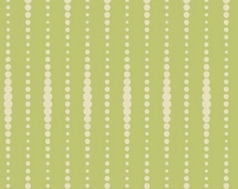 "25% Sale Studio e  ""Flourish"" Beads Green    Premium Cotton Fabric    BTY"