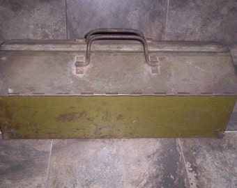 Antique Curtiss-Wright Airplane Division Tool Box