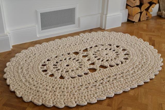Tappeto Ovale Alluncinetto : Schema tappeto ovale uncinetto ~ decorare la tua casa