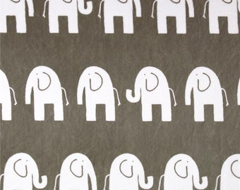 Minky baby blanket - Personalized Baby minky blanket - Elephant baby blanket - Elephant baby minky blanket - Gray elephant blanket