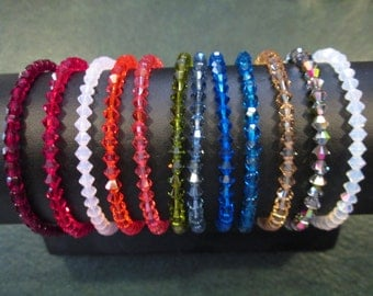 Stretchy bracelets Pt. 2- 12 NEW colors
