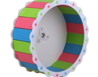Clearance! Sale! Read! Colorful Wheel for dwarf hamster, mouse