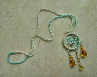 Crotchet dreamcatcher with beads