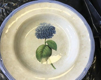 Blue Hydrangea Plate - Monicado