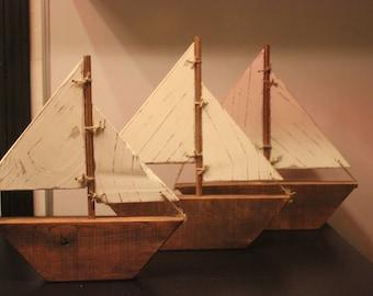 Pallet Sail Boats