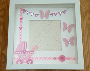 Baby boy and girl frames
