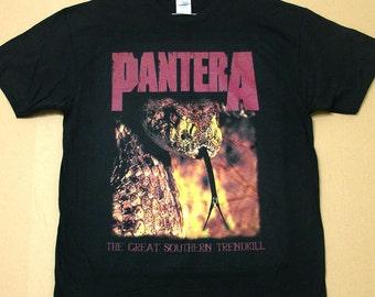 Pantera The Great Southern, T-shirt 100% Cotton
