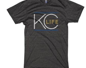 Charcoal KC Life T-Shirt - Baseball