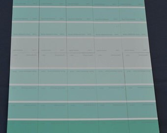 Dalia on mint green stripe background