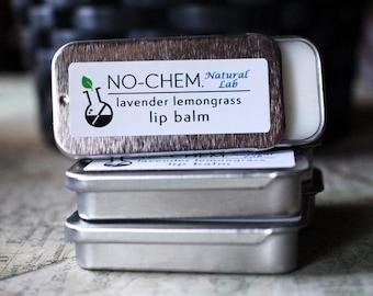Lavender Lemongrass Lip Balm