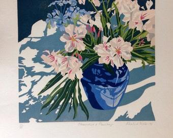 Oleanders & Plumbago