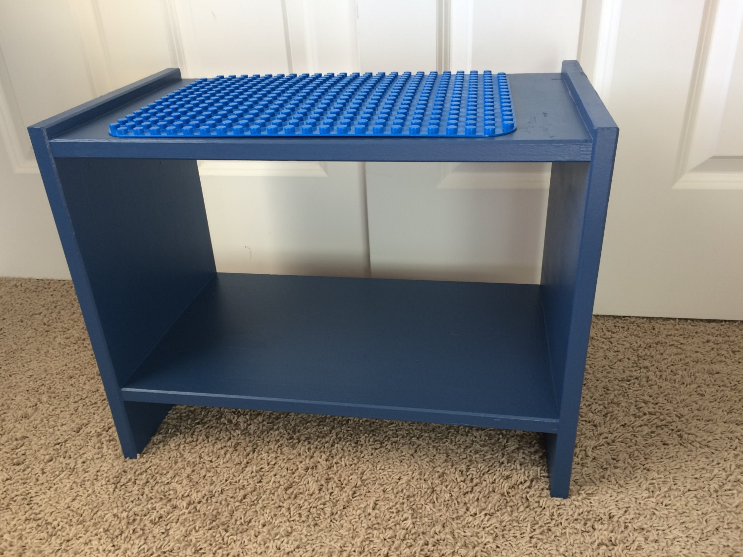 Custom Solid Wood Lego And Duplo Double Sided Table