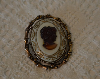 Cameo Brooch and or Pendant