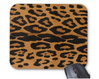 Animal Print Mouse Pad, Leopard Mousepad, Big Cat Spots