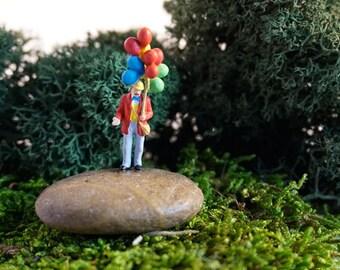Terrarium Figurine for Birthdaym Air Plant Terrarium, Moss Terrarium
