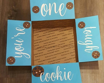 Military Care Package - You're One Tough Cookie Care Package- Long Distance Care Package - Long Distance Gift- Military Gift- Cookie Package