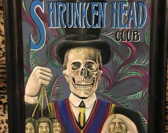Shrunken head club