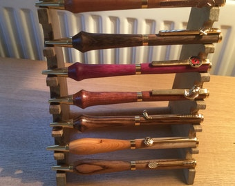 Wood turned pens speciality clips