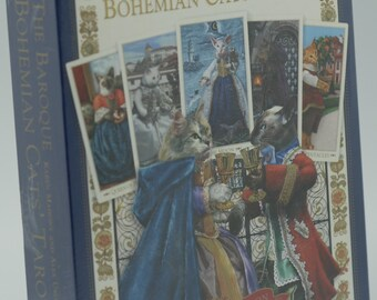 Tarot Coleccion The Baroque Bohemian Cats Tarot (Gold Edition Limited) (Autografiado)