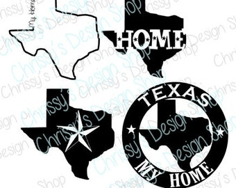 Texas is my home svg / home svg / texas svg / texas eps / vinyl crafting / texas  silhouette / print and cut file / texas clipart