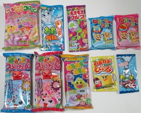 10 pcs japanese diy candy making kits fake beer popin cookin. Black Bedroom Furniture Sets. Home Design Ideas