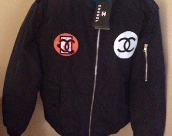 Bomber jacket Unisex Black Chanel