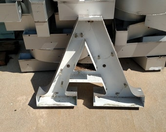 "24"" Alum. Channel letters"