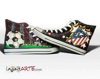 Custom Atlético de Madrid Shoes