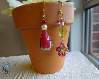 Flower Earrings/Tulip earrings/Tiger Lily Earrings