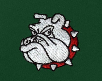 Prideful Bulldog Digital Embroidery Design