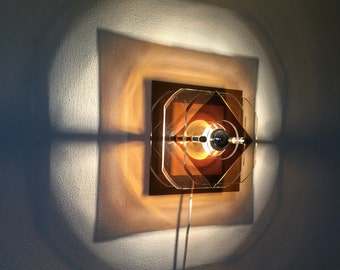 Herda Space Age Plexiglas Wall lamp