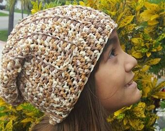 Adult Slouchy Crochet Hat