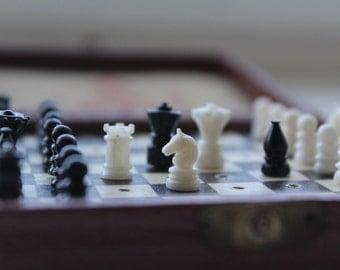 Rare traveling Soviet chess. Soviet road chess . Soviet traveling chess. Chess USSR. Vintage chess. Soviet chess. traveling chess. chess