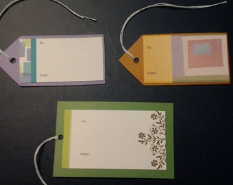 Set of 108 Gift Tags