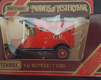 Royal Mail Y12 Model T Ford 1912 - Models of yesteryear