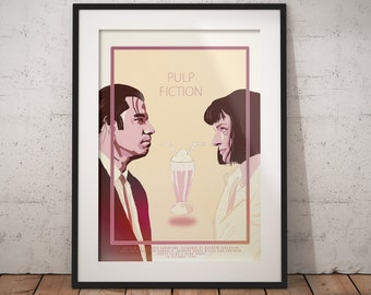 Poster - Pulp Fiction - Quentin Tarantino - very limited!