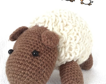 Sheep hand knitted