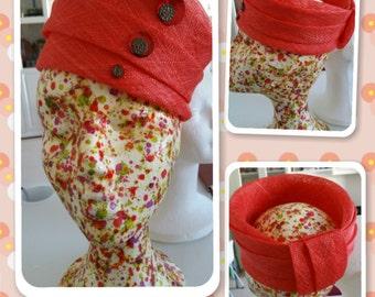 Orange turban