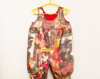 Sewing Pattern. Toddler Overalls. Baby girls and boys romper, easy to make baby & toddler overalls pattern sizes 0 mths to 1.5 yrs.