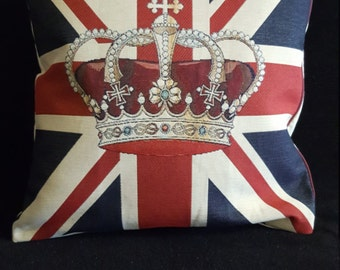 90th  Anniversary Queens Birthday pillow cover