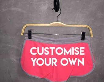 Customize Your Own Booty Short