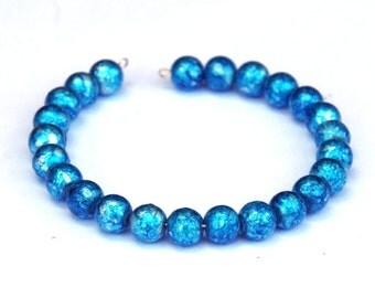 CUSTOM MADE memory wire bracelet - any colour scheme - unique jewelry