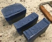 """Masculine and Clean """"Yacht Club"""" Charcoal handmade soap"""