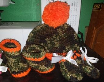 Crocheted NB Set-BOY