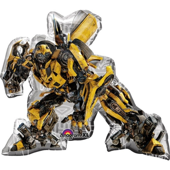 FAST SHIP Jumbo Bumble Bee Transformers Birthday Balloons Party Mylar Foil Supplies From
